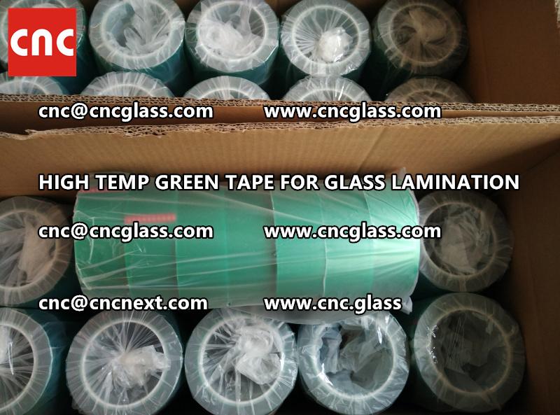 GREEN TAPE for EVA PVB SGP lamination (40)
