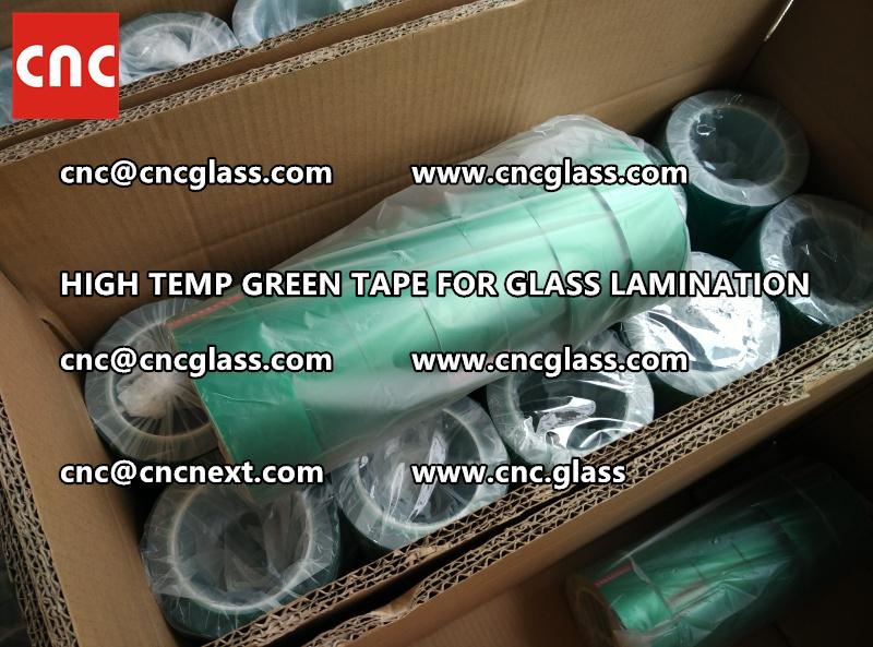 GREEN TAPE for EVA PVB SGP lamination (55)