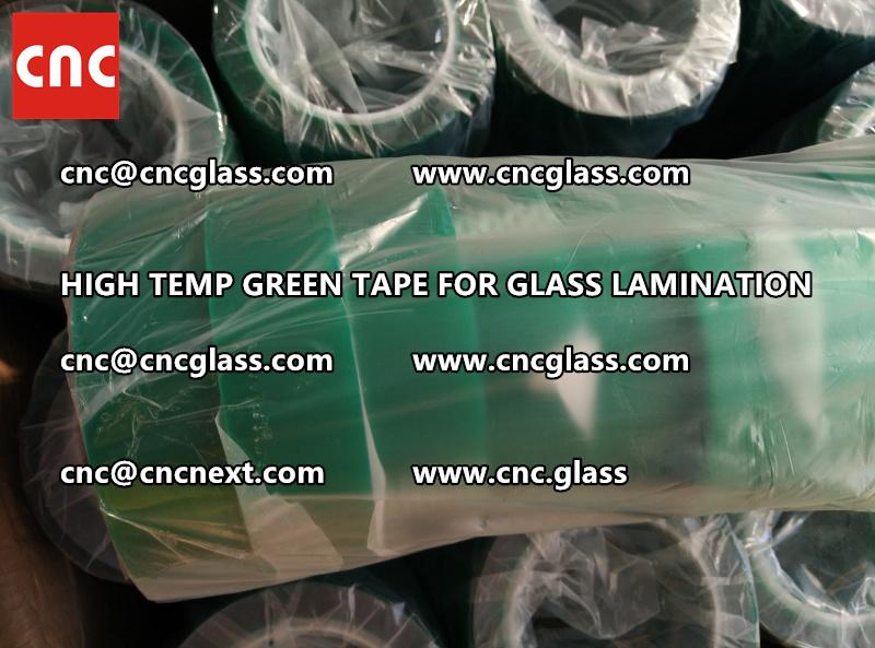 GREEN TAPE for EVA PVB SGP lamination (67)