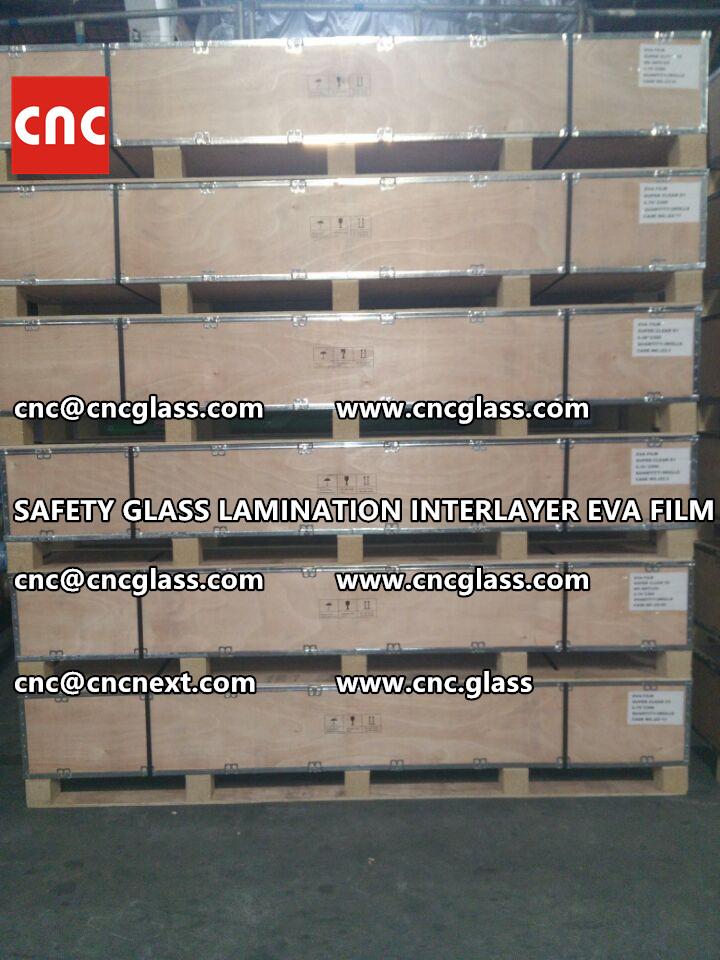 SAFETY GLASS LAMINATION INTERLAYER EVA FILM PACKING LOADING (14)