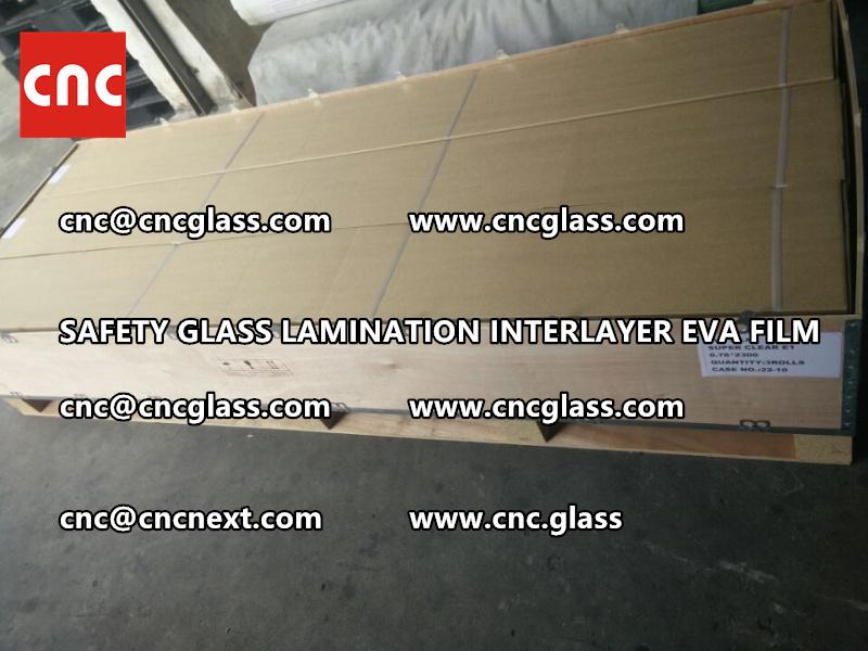 SAFETY GLASS LAMINATION INTERLAYER EVA FILM PACKING LOADING (18)
