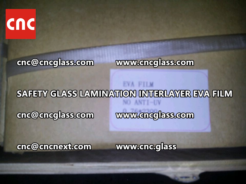 SAFETY GLASS LAMINATION INTERLAYER EVA FILM PACKING LOADING (2)