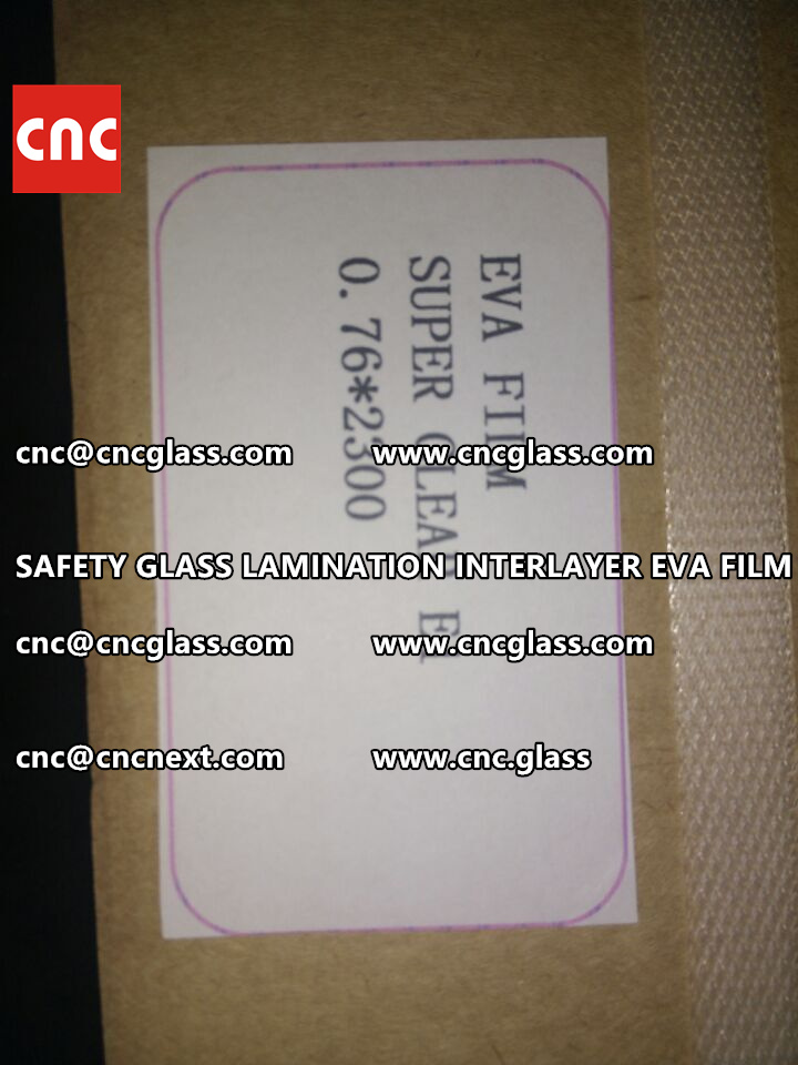 SAFETY GLASS LAMINATION INTERLAYER EVA FILM PACKING LOADING (22)