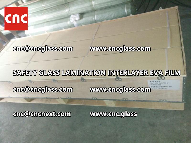 SAFETY GLASS LAMINATION INTERLAYER EVA FILM PACKING LOADING (25)
