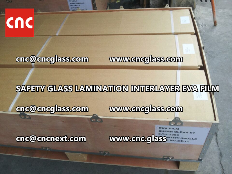 SAFETY GLASS LAMINATION INTERLAYER EVA FILM PACKING LOADING (7)