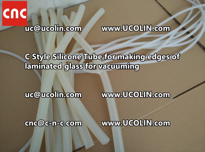 C Style Silicone Tube for making edges of laminated glass for vacuuming (18)