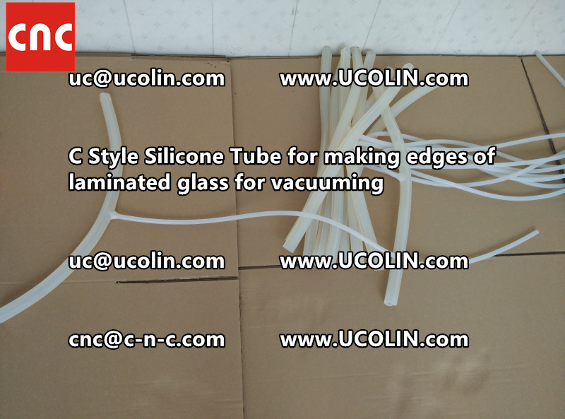C Style Silicone Tube for making edges of laminated glass for vacuuming (19)